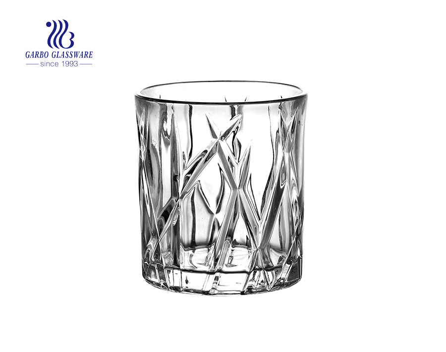 230ml glass whisky cups for wine drinking Chinese factory