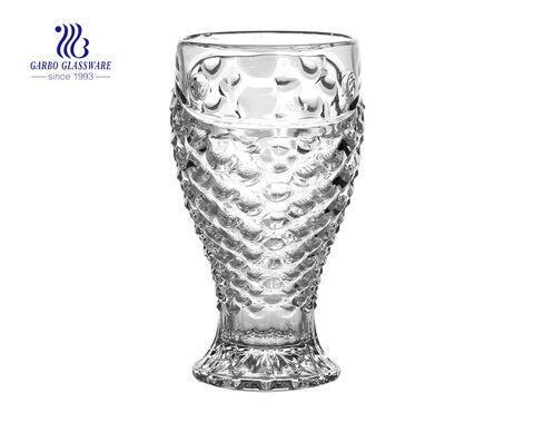 O preço de fábrica de venda quente projeta o copo de suco de vidro 240 ml