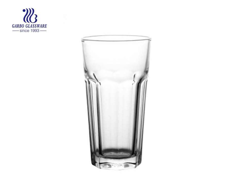 14oz high quality water drinking rock glass tumbler