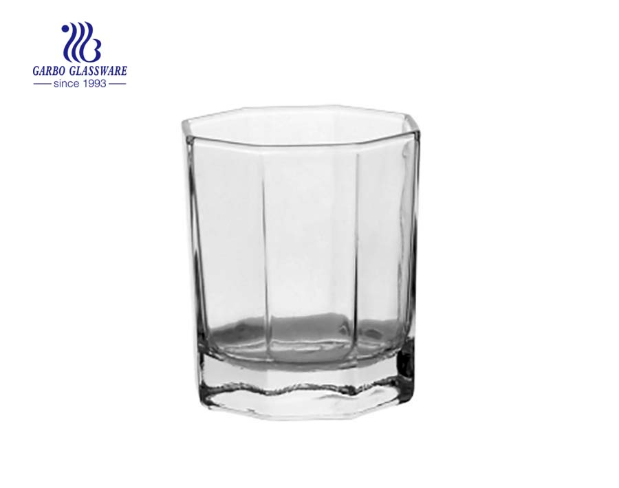 6oz water and juice drinking glass cup