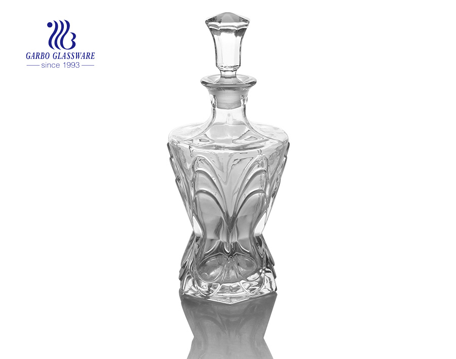 Middle Capacity 650ml  Glass Decanter For Fathers Day
