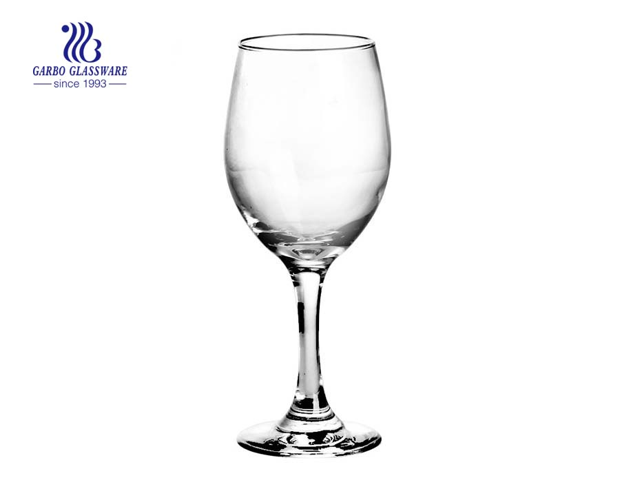 Custom Logo Red Wine Glass For Wedding Glassware