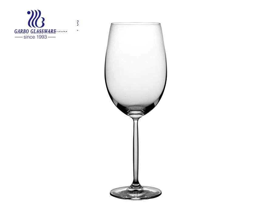 Benutzerdefiniertes Logo Rotweinglas für Hochzeitsglaswaren