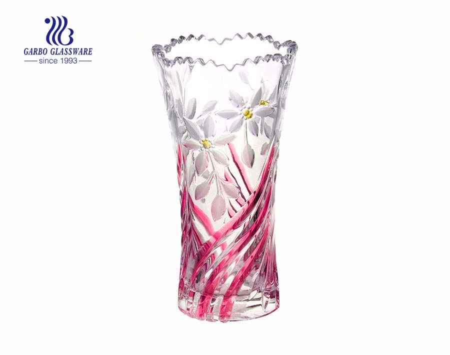 Colorful Large Glass Vase For Home Decoration