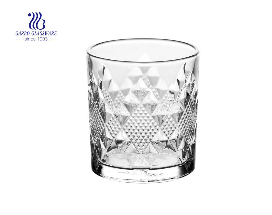 11oz Engraved whisky wine glass tumblers