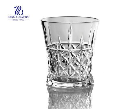Copa de vino grabada de 260 ml para beber jugo