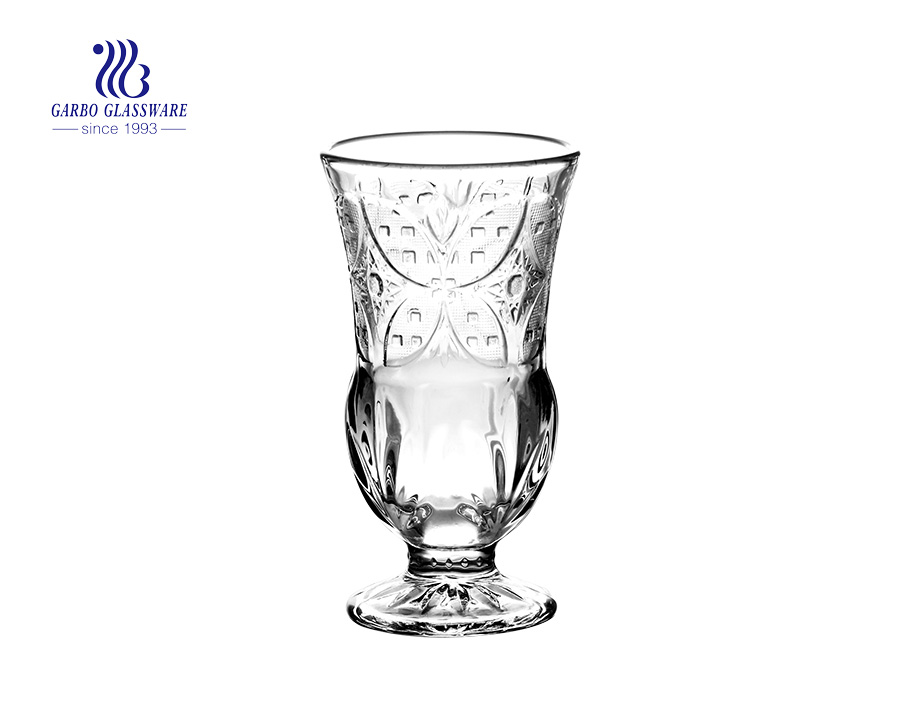 240ml hot selling desgins wine juice goblet with wholesale price