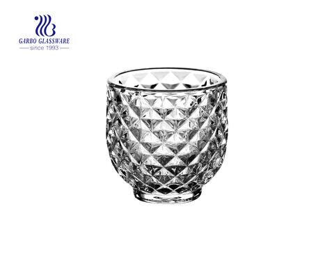 حامل شموع زجاج شفاف شفاف GB22158YD