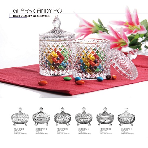 The usages for a glass candy jar