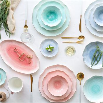 The brief process for making ceramic ware