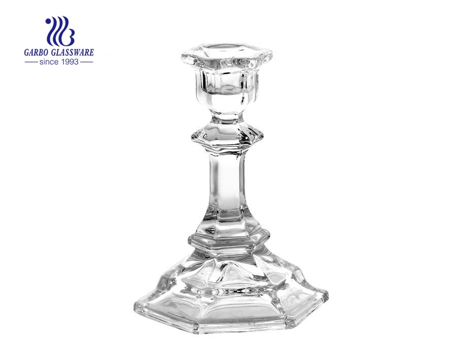 Gift Order Irregular shaped Glass Candle Holder