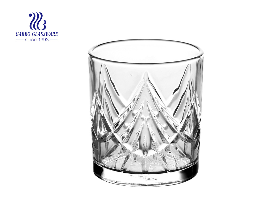 320ML New glass whisky stone with factory price