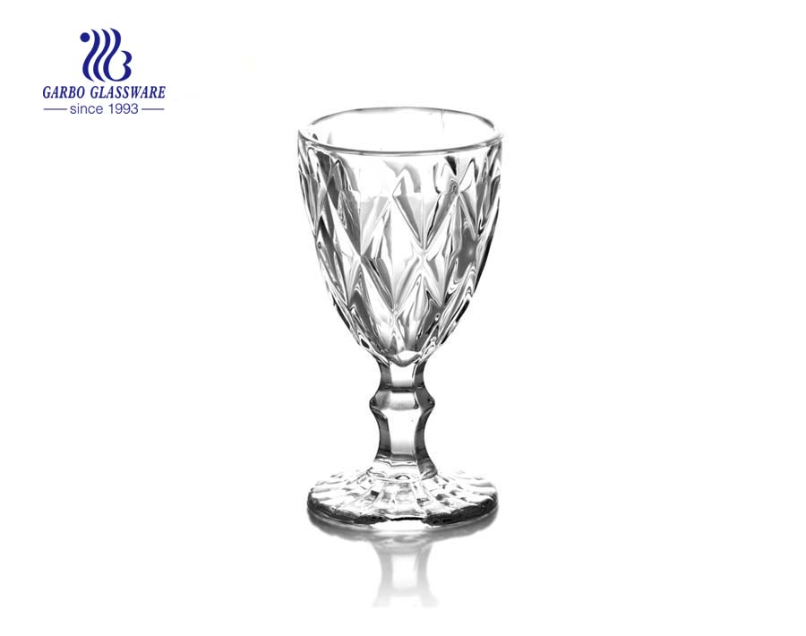 Vintage Clear Cup Shaped Glass Candle Holder  Gift Selectinon