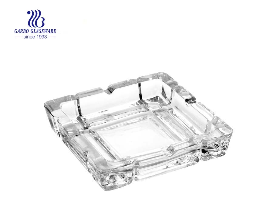 Wonderful China made glass cigarette ashtray for office room