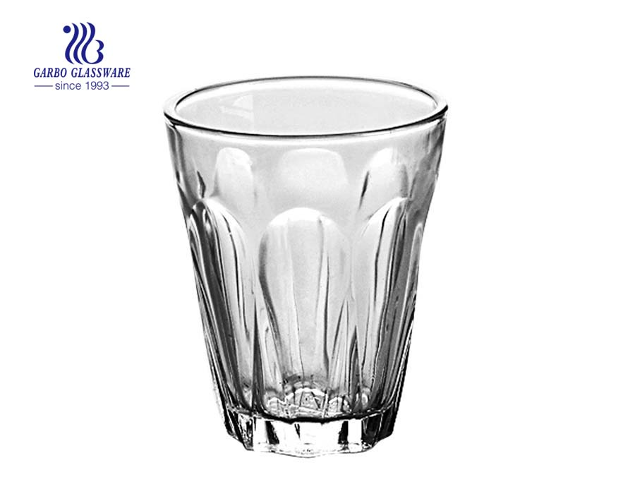 300ml gift water and coffee drinking glass tumbler
