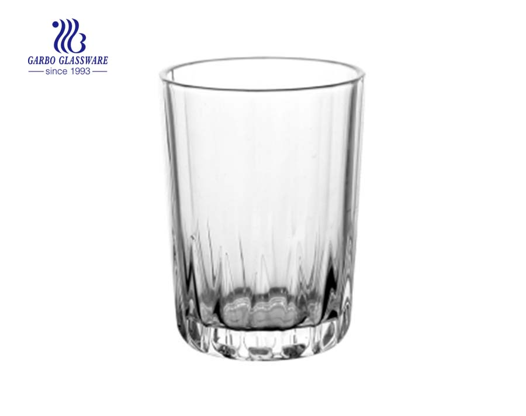 Copo de vidro bebendo do suco da água e do presente 8oz por atacado