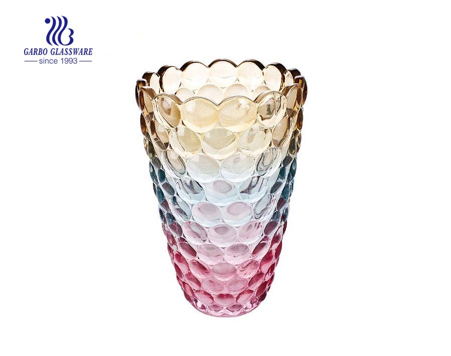 Decorative Color Register Tableware Glass Vase