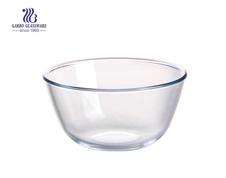High quality 11inch baking glassware retangular borosilicate baking plate with lid