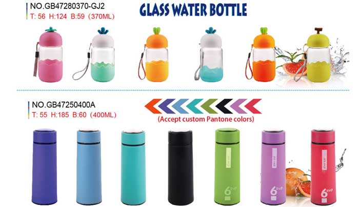 You need a portable and E-friendly glass bottles