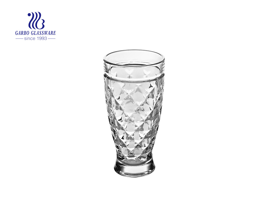 hot selling 330ml  juice beer shape juice tumblers with factory price