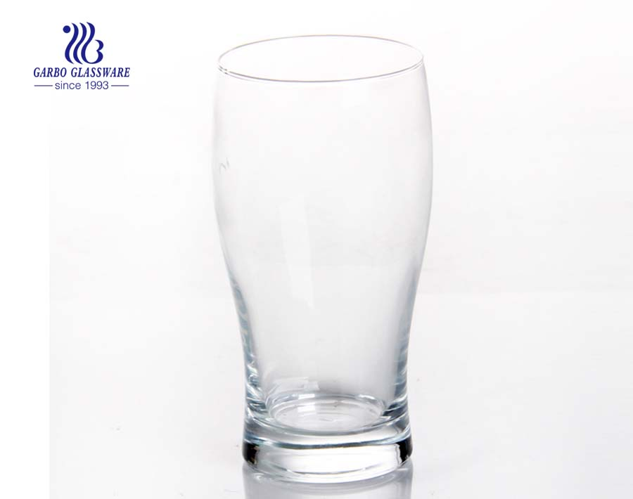 580ml decals beer drinking blowing glass cup