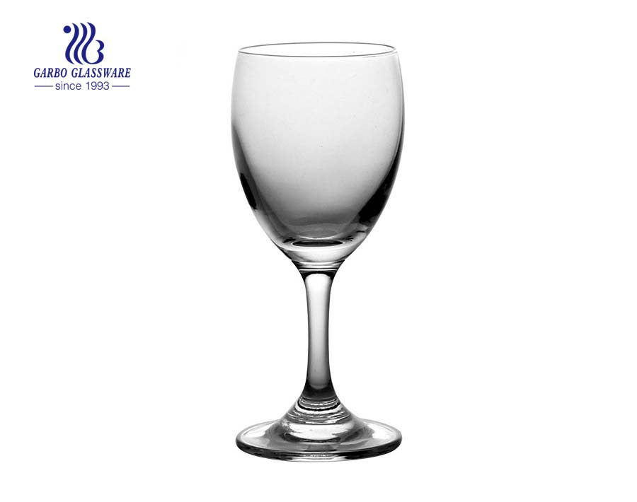 lead free crystal Wine Glass goblets cup For Wedding Glassware
