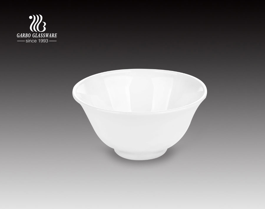 4.5 inch dinnerware soup opal glass bowl