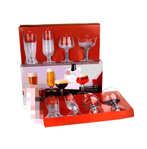 Handmade glass and machine made glassware