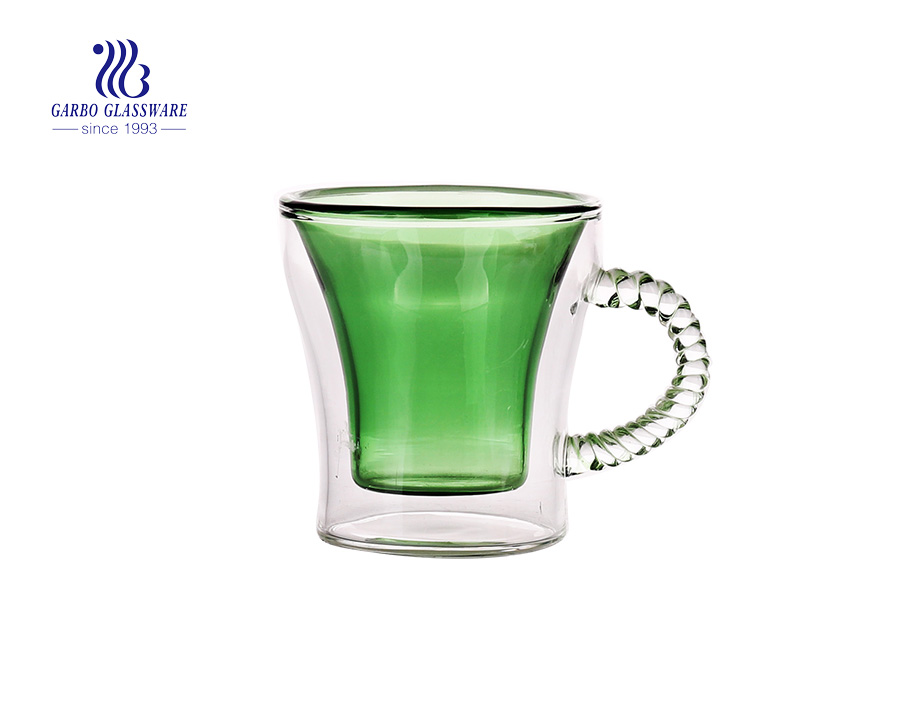The classic item of the glass cup