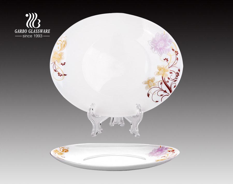 8.5-Zoll-OEM-Opalglasplatte für Restaurants