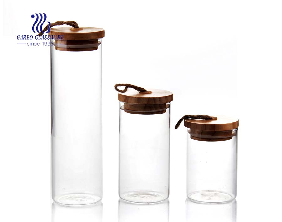 450ml Sugar Container with Lid and Spoon and bamboo tray for Sugar Bowl Serving Tea, Coffee, Spice
