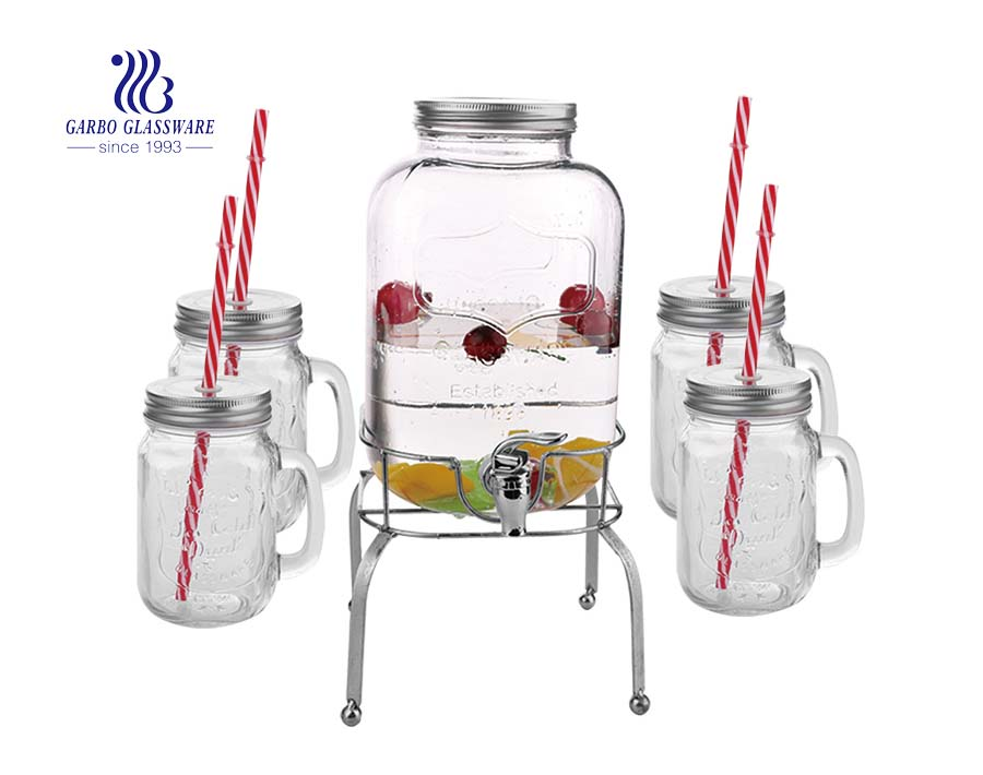 2.1L Style Setter Beverage Dispenser Cold Drink Dispenser  for Parties, Weddings & More