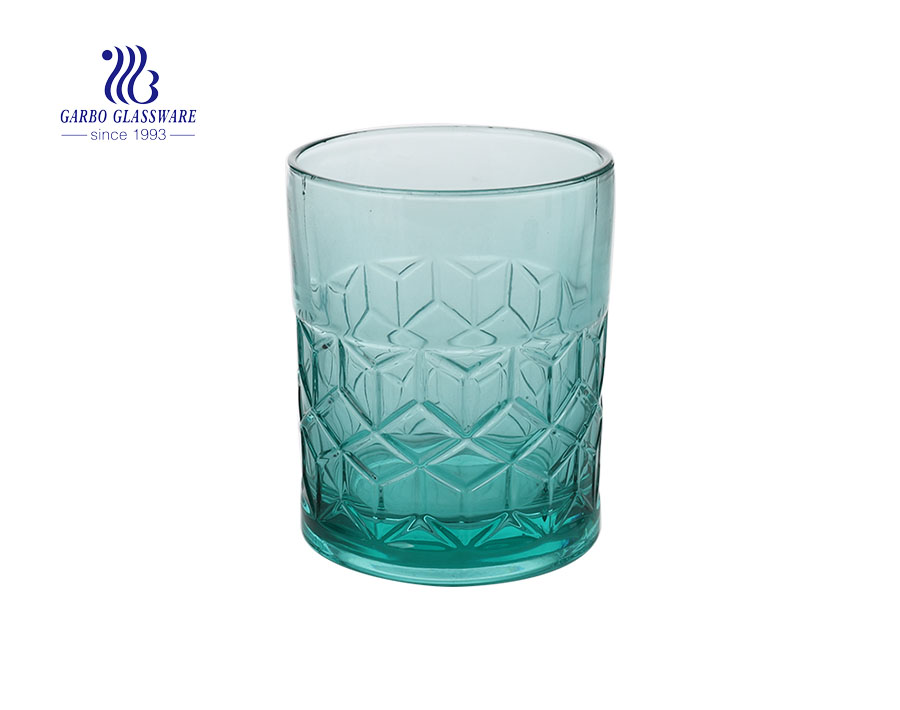 Ins Style Unique Colorful  Glass Candle Holder