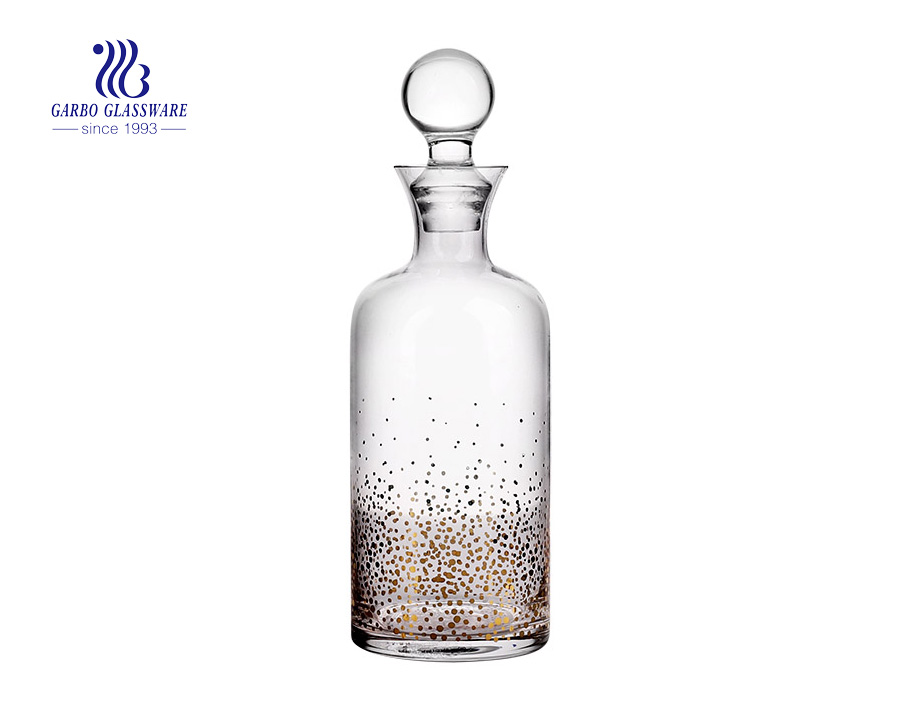 Bottle Shaped 1300ml Wonderful Glass Wine Decanter