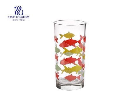 8oz mỗi ngày sử dụng cốc thủy tinh uống nước in