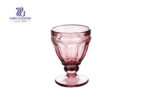 Cuencos de helado de vidrio sólido de diseño exclusivo de 250 ml de color elegante
