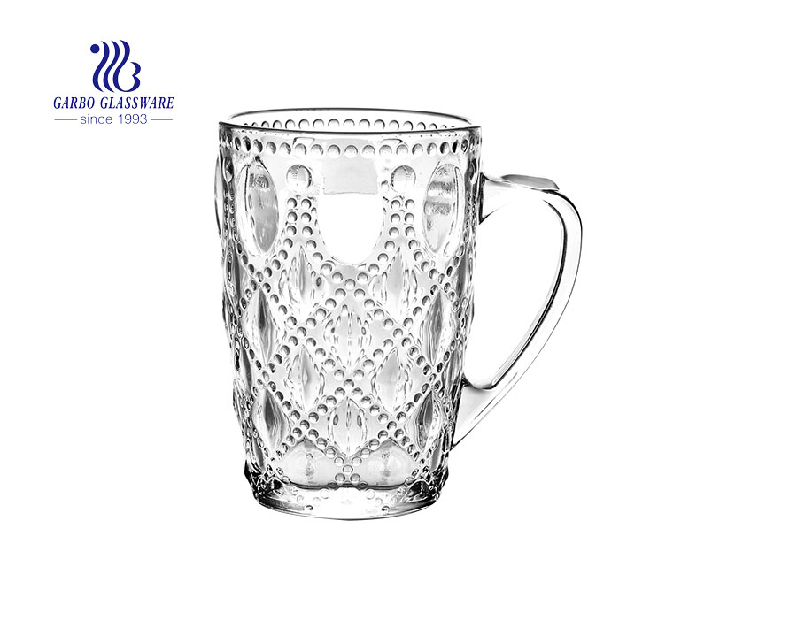 Hot selling 16oz big beer glass mugs for bar