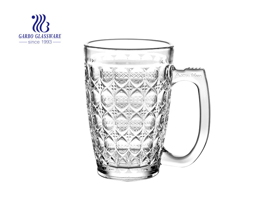 Classic design 9oz pineapple beer glass mugs for restaurant