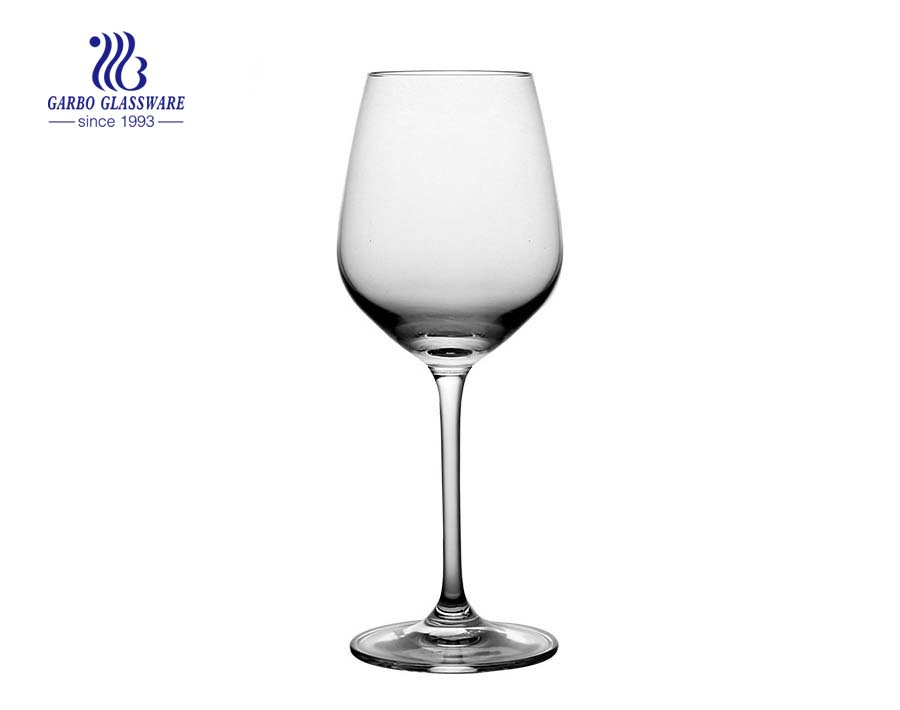 380ml 13oz Large Modern Design Transparent Wine Glass