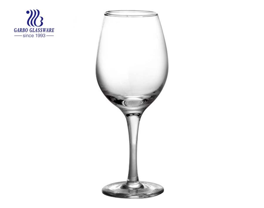 380ml 13oz Large Modern Design Transparent Wine Glass