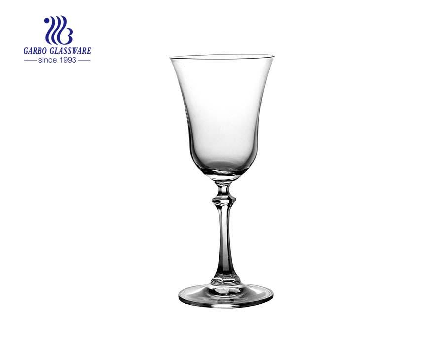 Wholesale 4.4 oz Wedding Goblet Wine Glass Engraved Cocktail Stemware