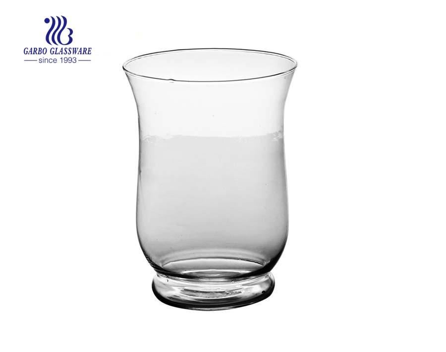 Einfache Blasen Klarglas Vase Tisch Raumdekoration