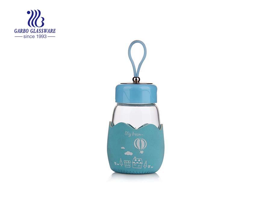Kleine tragbare Glas-Wärmflasche mit kundenspezifischen Designs