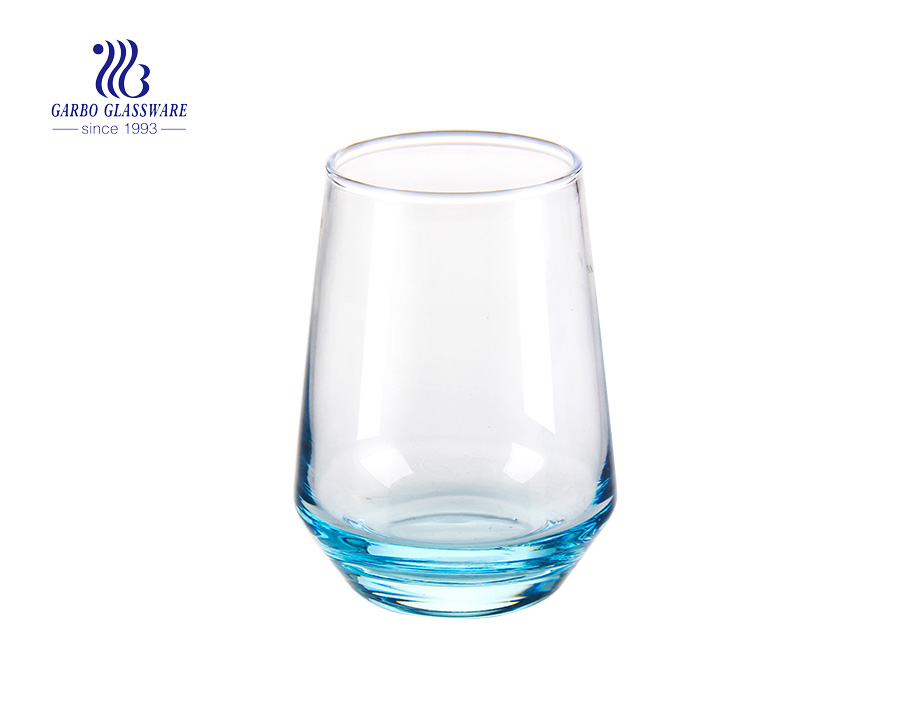 500ml colored blowing glass cup
