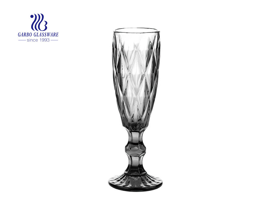 150ml solid color champagne glass goblet