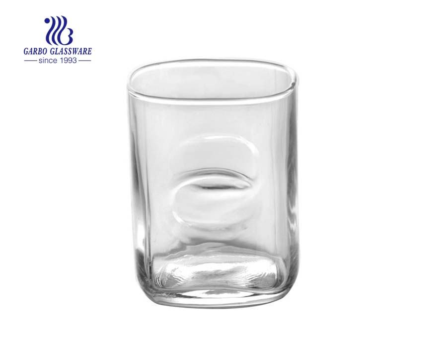 8oz high quality water drinking glass cup