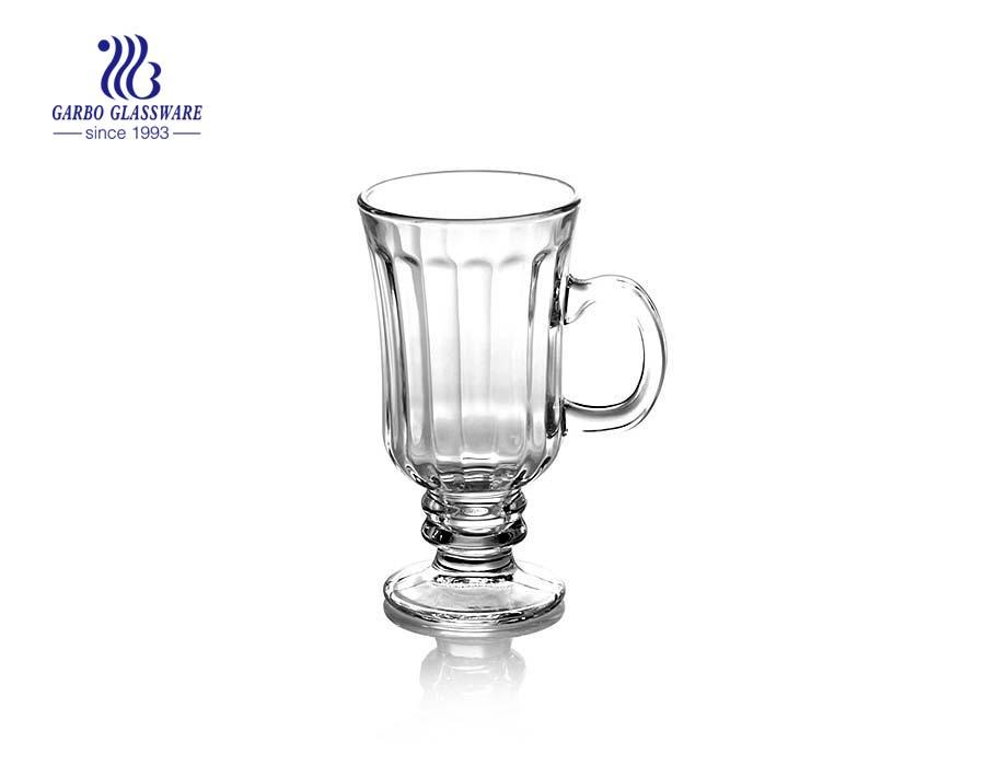 7oz Glass Small Tea Glasses Mocha Mugs Irish Coffee Mugs