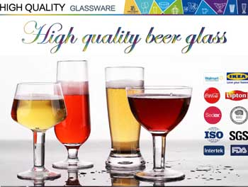 10 most popular glass beer cups