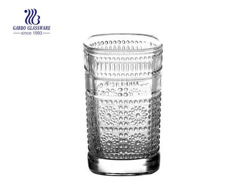 proveedor de fábrica de vidrio taza de té vaso de té vaso de vidrio