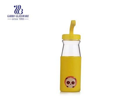 Garrafa de leite 450ML com manga de borracha